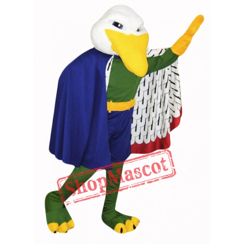 Power Gull Mascot Costume