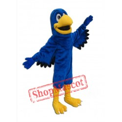Blue Falcon Mascot Costume
