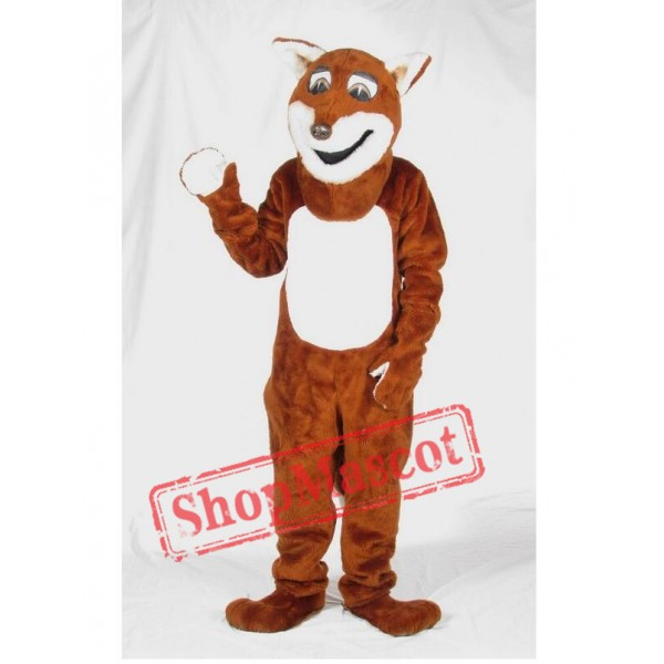 Happy Fox Mascot Costume