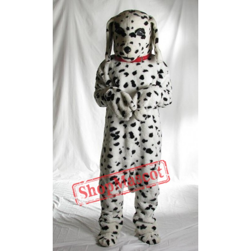 Spotted Dog Mascot Costume
