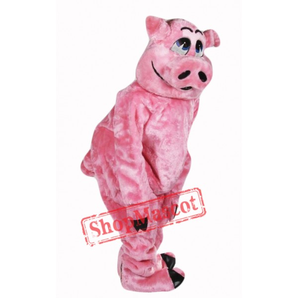 Beautiful Pink Pig Mascot Costume
