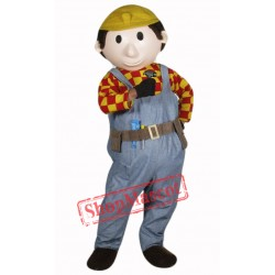 Builder Buddy Mascot Costume