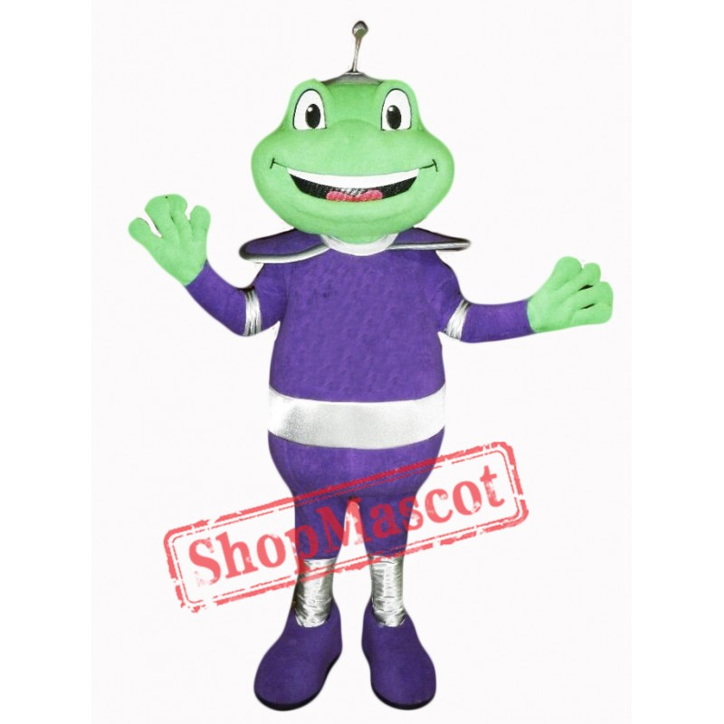 Happy Frog Mascot Costume