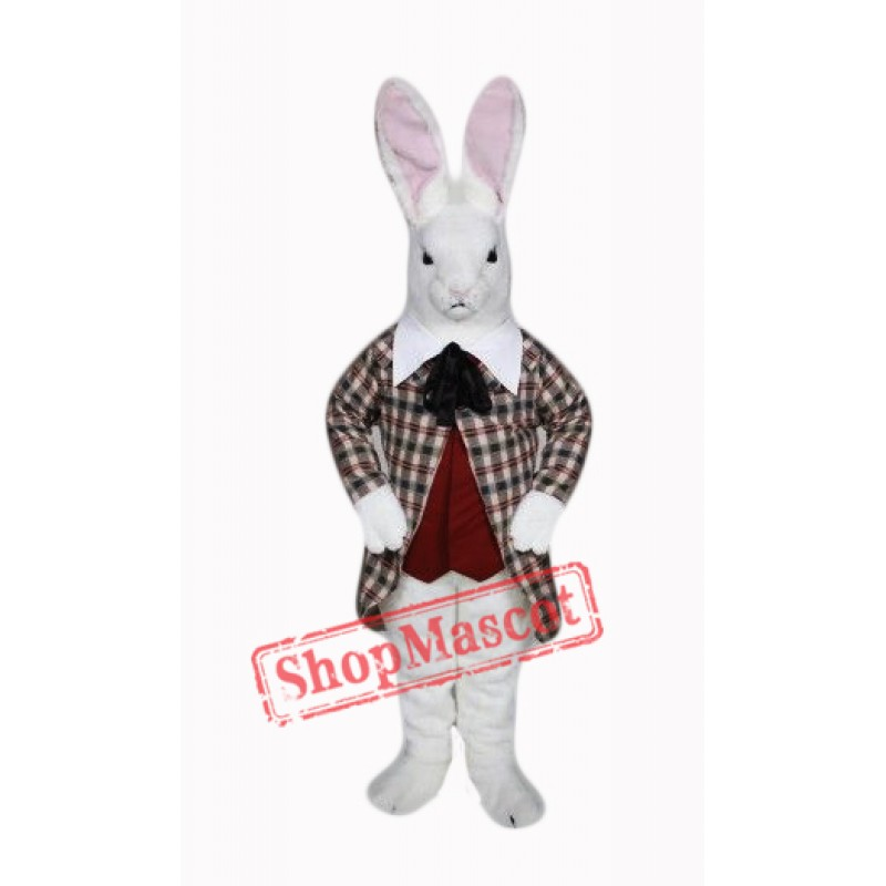 Fierce Easter Bunny Mascot Costume