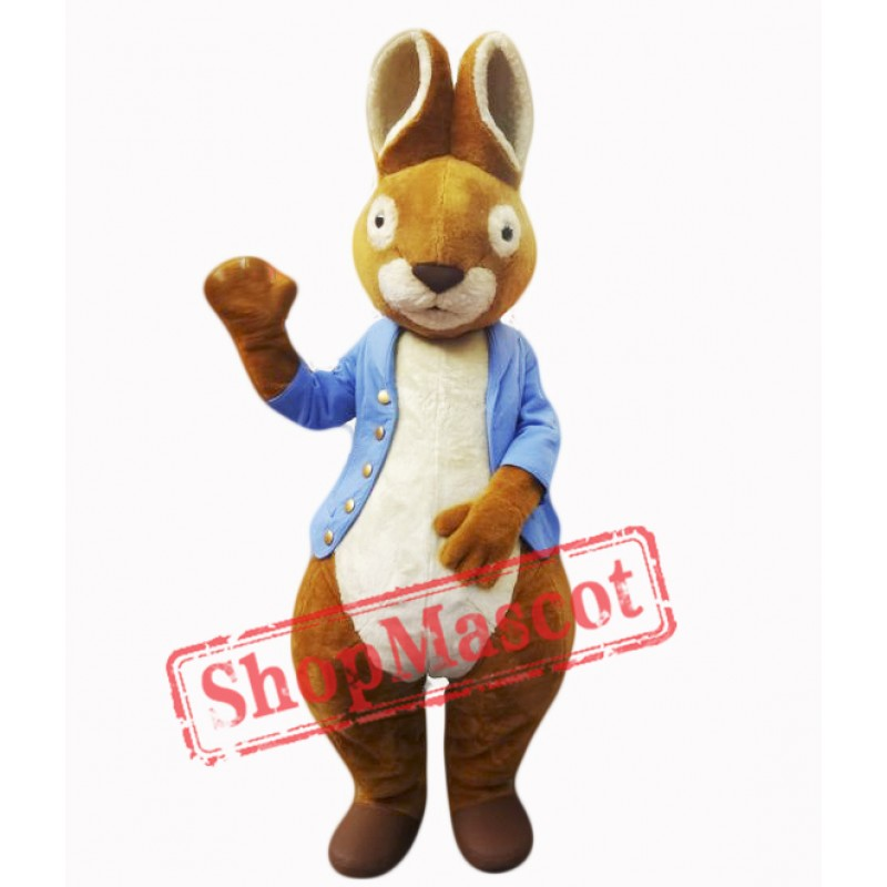 Cute Easter Bunny Mascot Costume