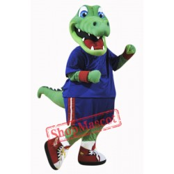 College Alligator Mascot Costume