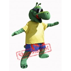 Cool Alligator Mascot Costume