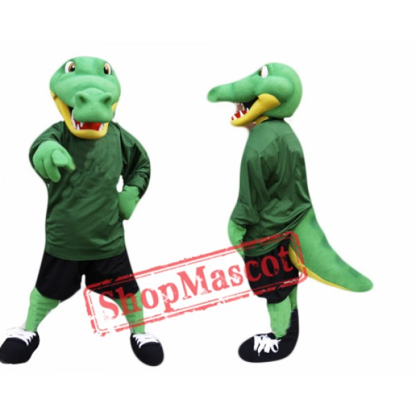 University Alligator Mascot Costume