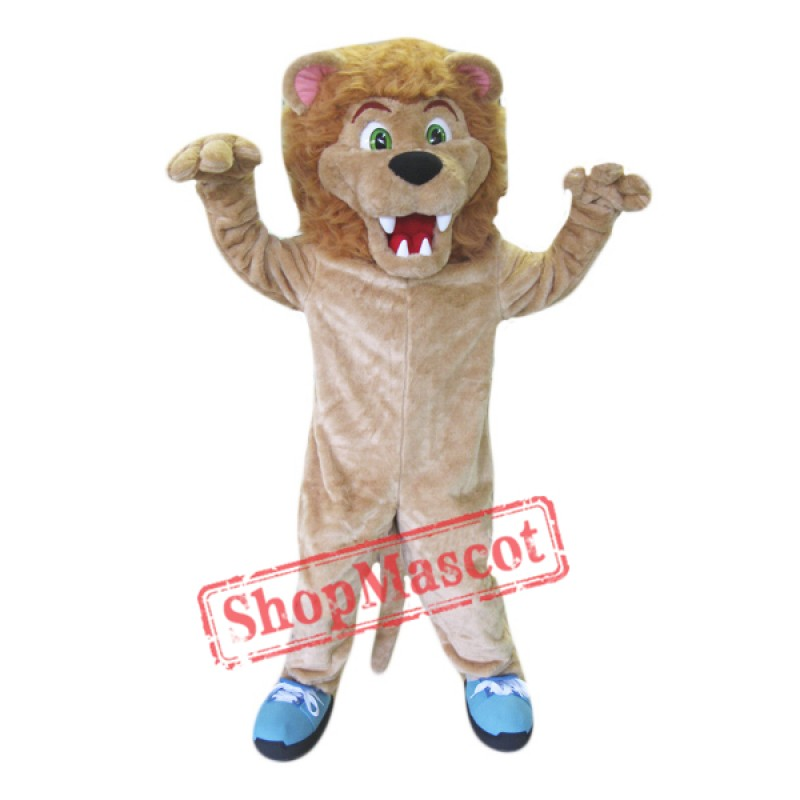 High School Lion Mascot Costume Free Shipping