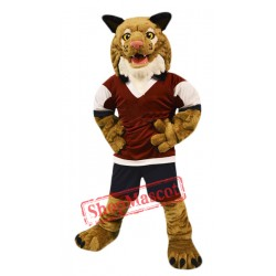 College Wildcat Mascot Costume
