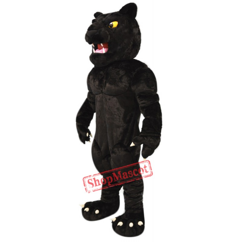 Power Black Panther Mascot Costume