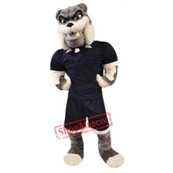 High School Bull Dog Mascot Costume
