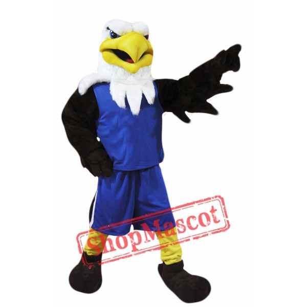 College Eagle Mascot Costume Free Shipping