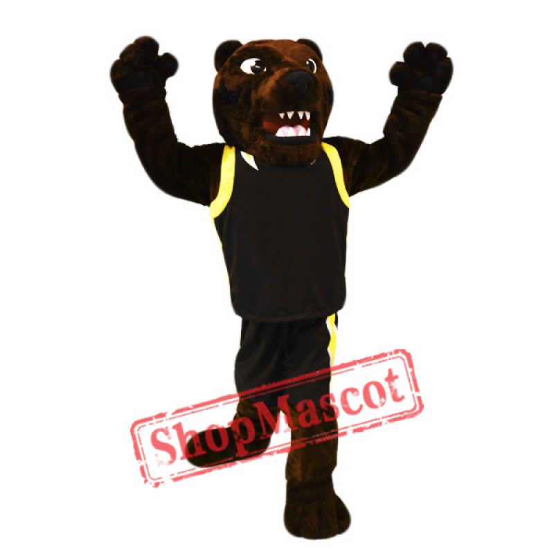 Fierce Brown Bear Mascot Costume Free Shipping