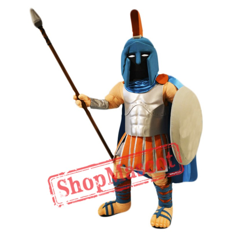 High School Spartan Mascot Costume