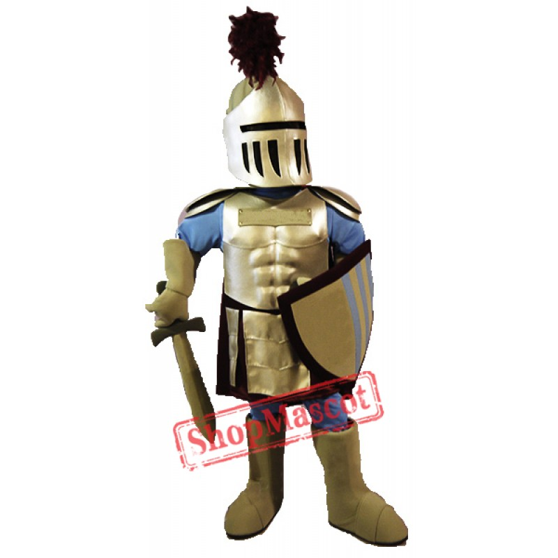 sc 1 st  ShopMascot.com & Blue u0026 Golden Knight Mascot Costume