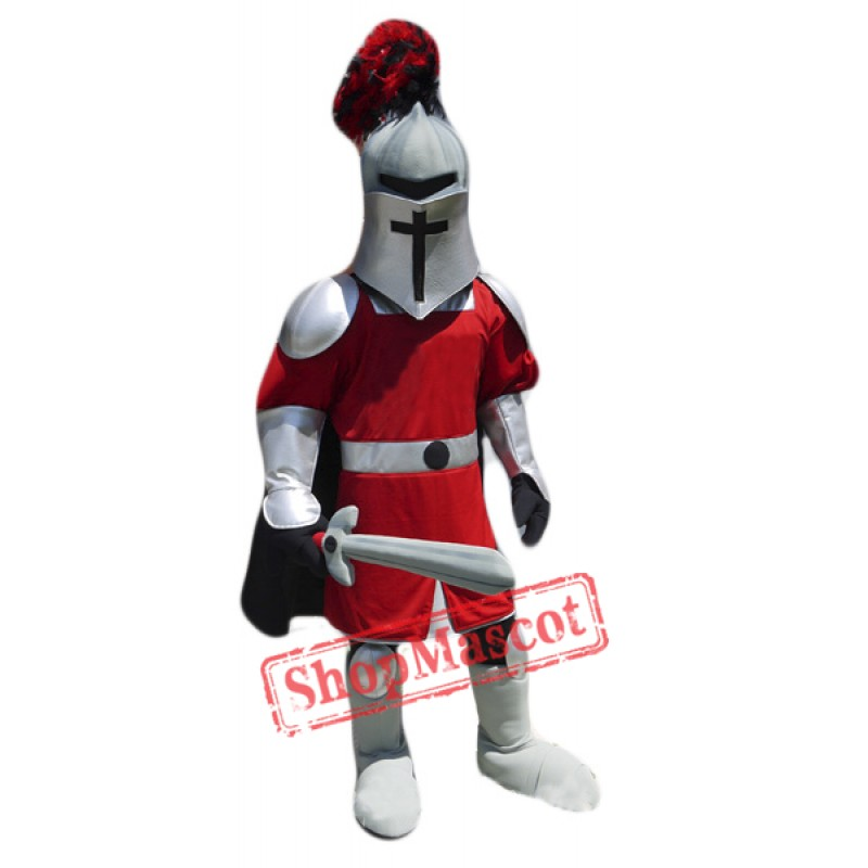 Sword Knight Mascot Costume