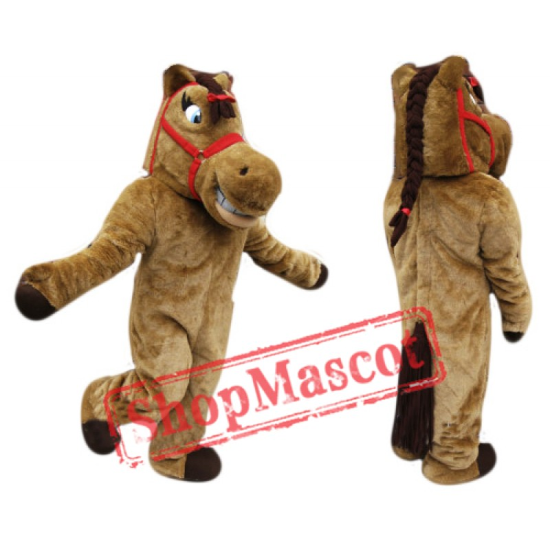 High School Horse Mascot Costume
