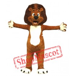 Professional Quality Lion Mascot Costume