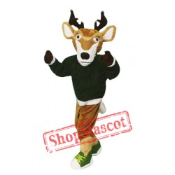 College Sport Deer Mascot Costume
