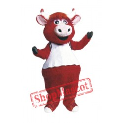 High Quality Red Bull Mascot Costume