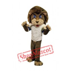 School Lion Mascot Costume
