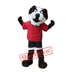 University Bulldog Mascot Costume