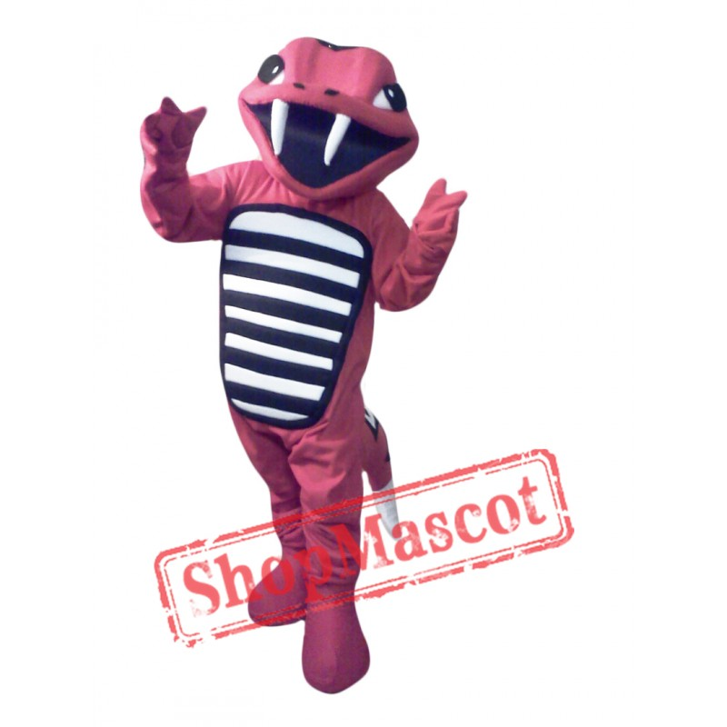 Red Rattler Lightweight Mascot Costume