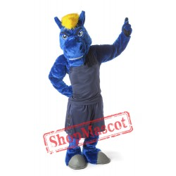 College Chargers Mascot Costume