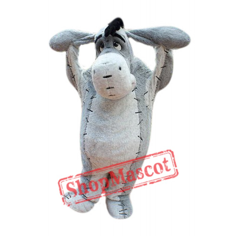 High Quality Eeyore Donkey Mascot Costume