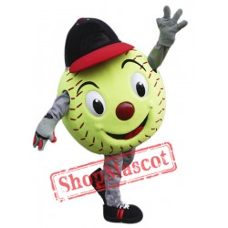High Quality Softball Mascot Costume