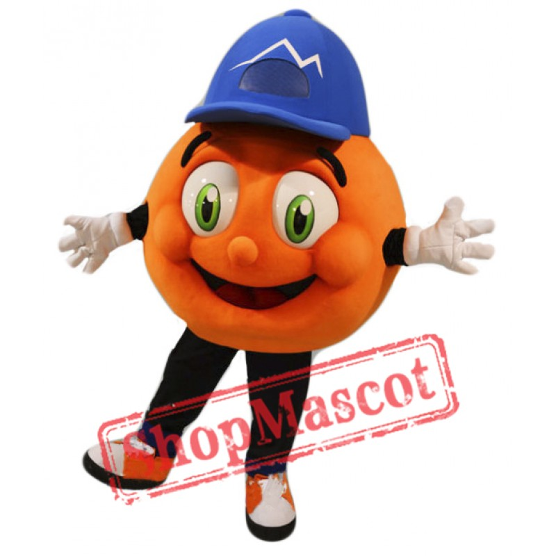 Orange Squeeze Mascot Costume