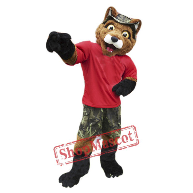 College Fox Mascot Costume