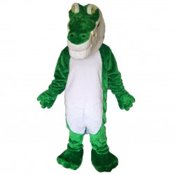 Green Crocodile Lightweight Mascot Costumes