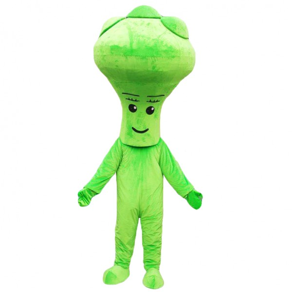 Green Vegetable mascot costumes
