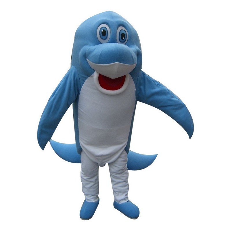 Blue Dolphin Mascot Costumes