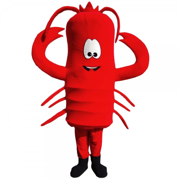 Red Lobster Mascot Costume
