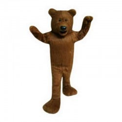 High Quality Plush Brown Mascot Costume