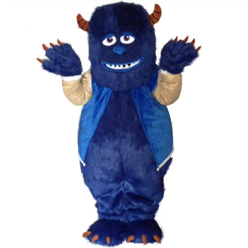 Monsters University James P. Sullivan Mascot Costumes