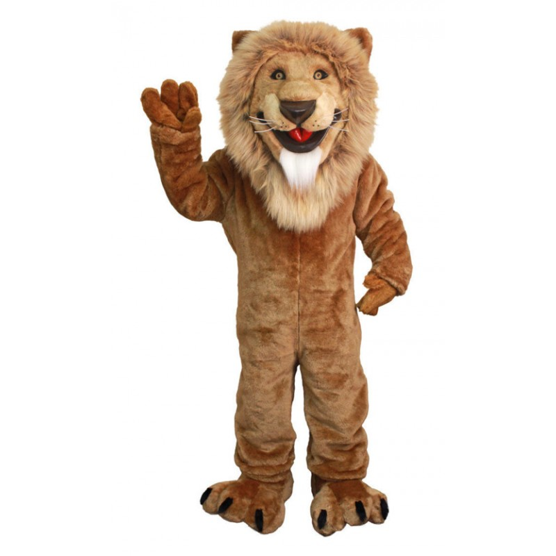 Friendly Lion Lightweight Mascot Costumes