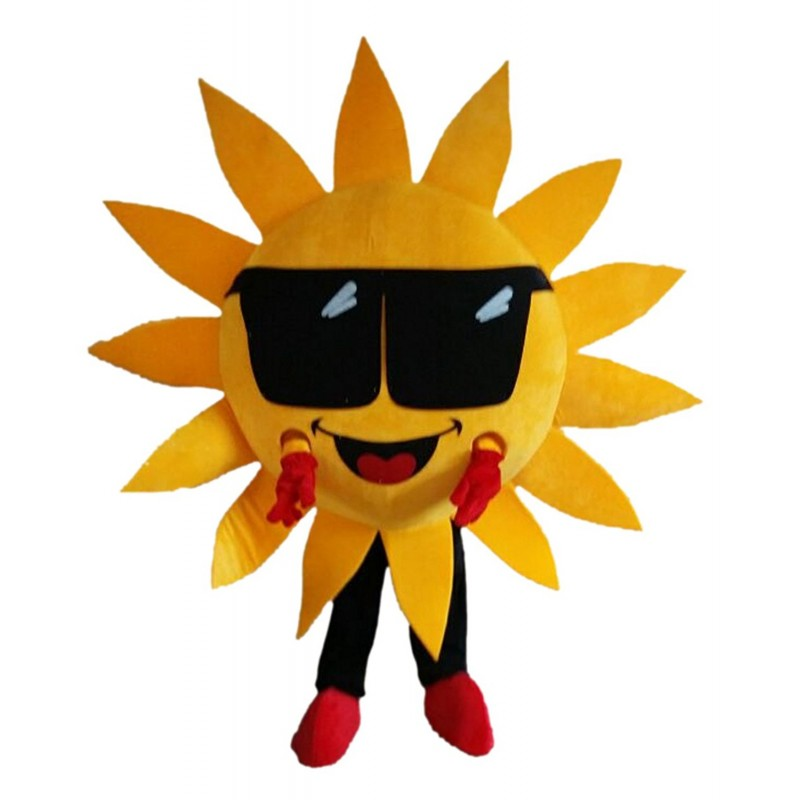 Mr.Sun Sunflower Mascot Costume