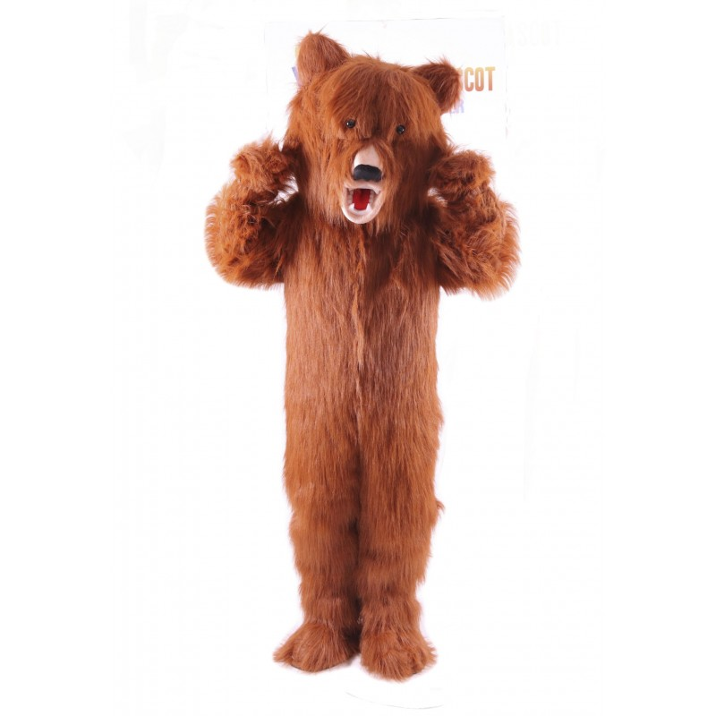 Grizzly Bear Lightweight Mascot Costume