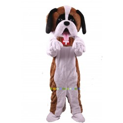 St. Bernard Dog Lightweight Costume Mascot Free Shipping