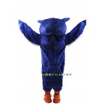Blue Owl Mascot Costume Free Shipping