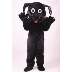 Black Lightweight Labrador Dog Mascot Costume