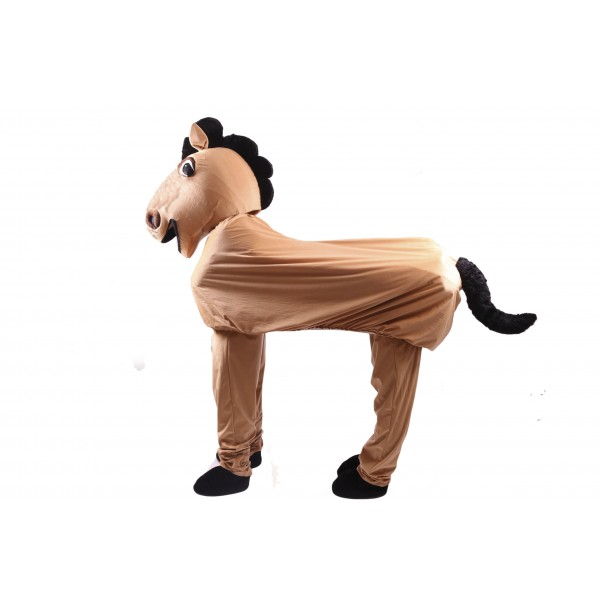 2 Person Horse Costume Mascot Free Shipping