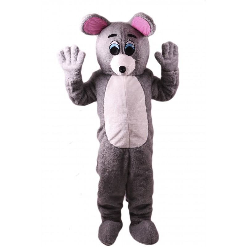Grey Mouse Lightweight Mascot Costume Free Shipping