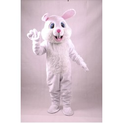 White Rabbit Lightweight Mascot Costume Free Shipping