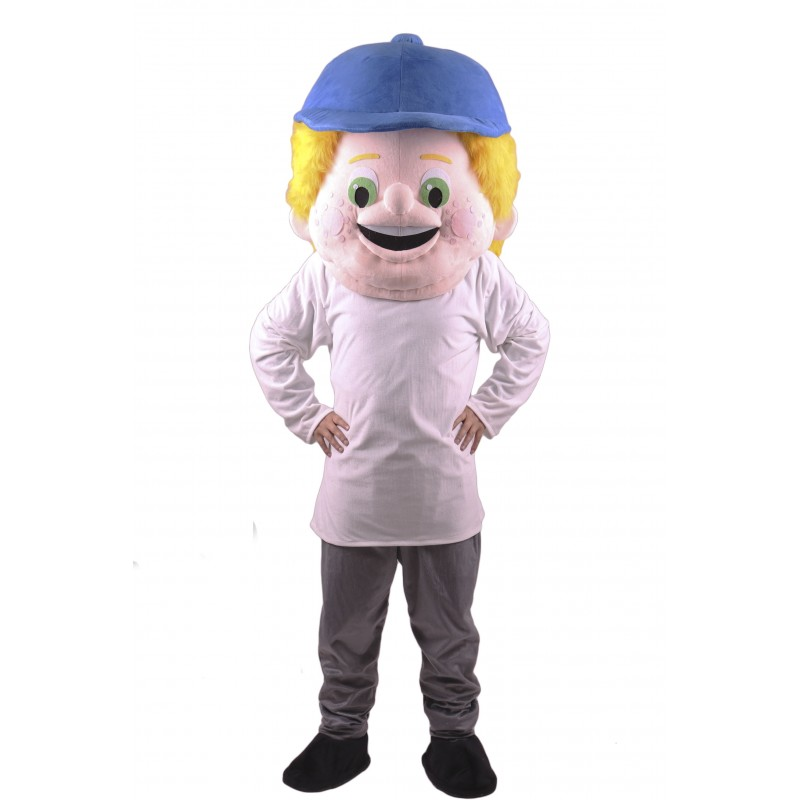 Baseball Kid Head Only Mascot Costume Free Shipping