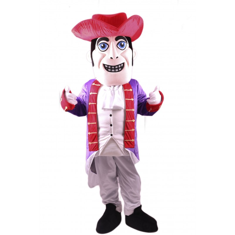 Patriot Mascot Costume Free Shipping